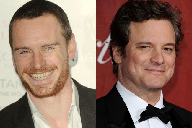 Michael Fassbender y Colin Firth