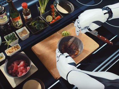 El futuro es ya: los brazos articulados que aprenden tus recetas y las cocinan para ti