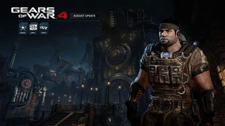 Gears of War 4 recibe su actualización de agosto y estos son sus contenidos