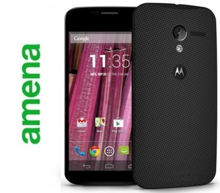 Precios Motorola Moto X con Amena y comparativa con la competencia