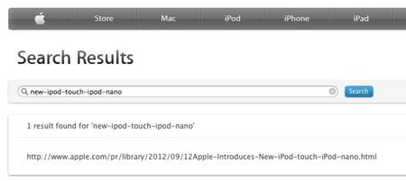 Nuevo iPod touch y iPod nano