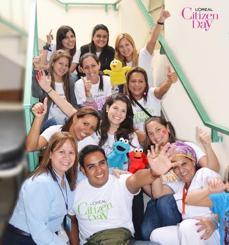 Un año más, L'Oréal mantiene su compromiso con el Citizen Day movilizando a todos sus empleados