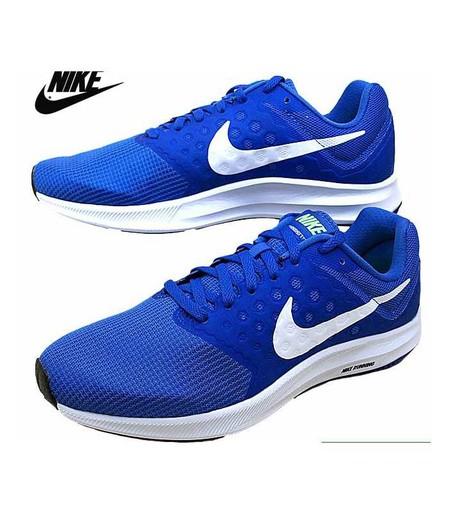 Nike Downshifter 7 Azul Blanco