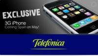 iPhone 3G en España para mayo