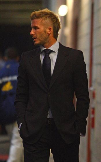 El nuevo look de David Beckham y sus peinados mundialistas
