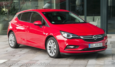 Opel Astra 2015 contacto