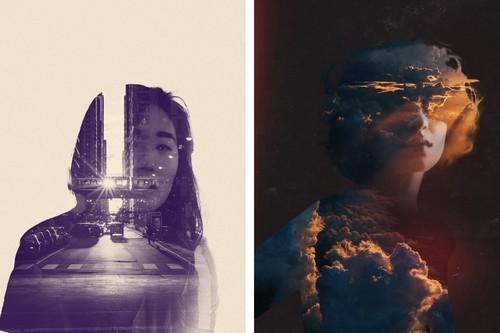 Fuzion es la app que fusiona tus retratos con escenarios increíbles a través de una doble exposición