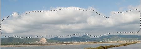 Selección nubes edición por zonas