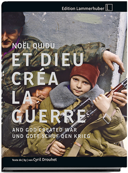 Noel Quidu God Created War Cover