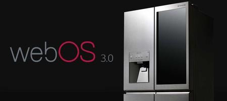 LG integra WebOS en su nuevo frigorífico, al que podrás dar órdenes de voz para hacer la compra