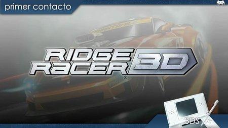 'Ridge Racer 3D'. Primer contacto