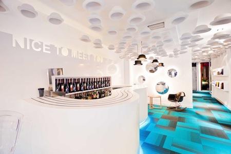 Un toque <em>british</em> en el bar del Hotel Portago Urban de Granada
