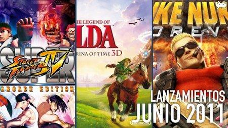 Guía de lanzamientos: junio de 2011