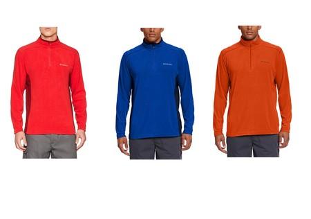 Podemos estrenar una chaqueta polar Columbia Klamath Range II Half Zip por sólo 17,95 euros gracias a Amazon