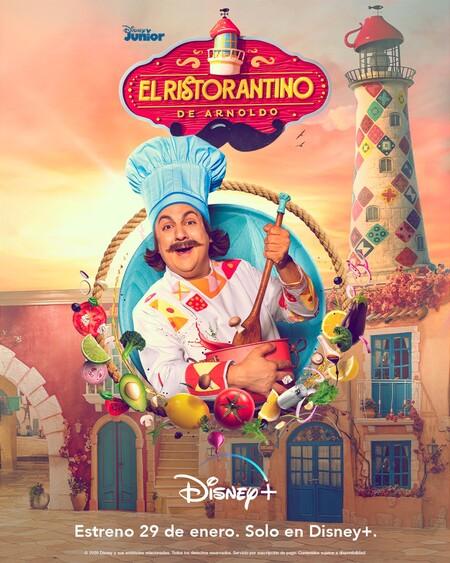 El Ristorantino de Arnoldo la nueva producción de Disney + que promueve hábitos de alimentación saludable para toda la familia