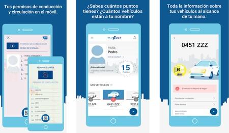 La DGT actualiza su app: MiDGT incluye ahora tres nuevas funciones para complementar al carnet de conducir virtual