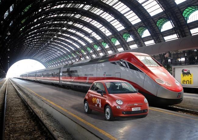 Enjoy coche compartido de Fiat en Milán
