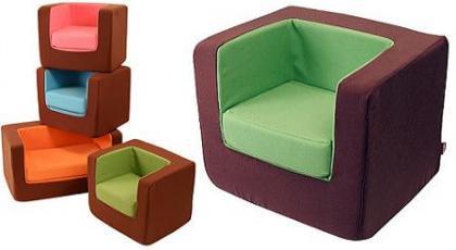 Cubino sillones blanditos para el cuarto infantil for Sillon blanco para dormitorio