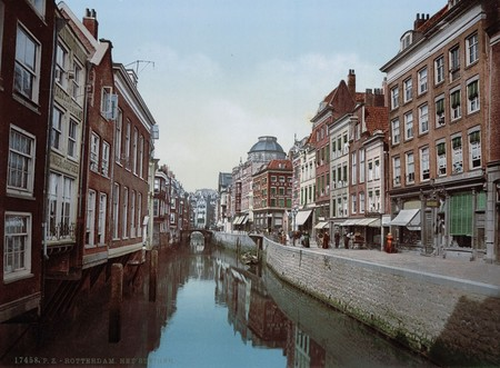 Rotterdam Antes De Ser Destruida