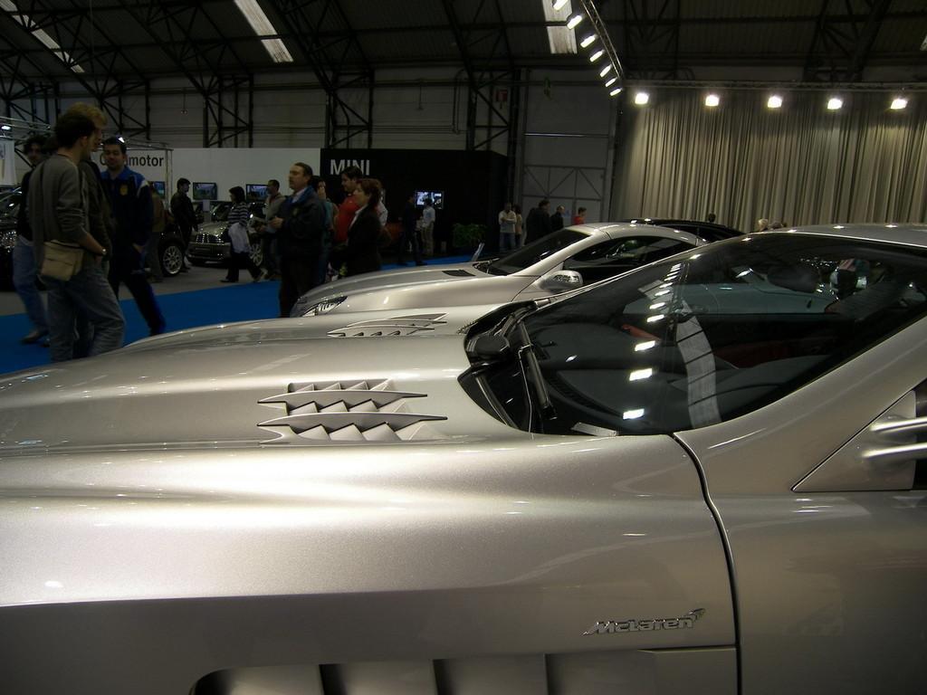 Foto de Mercedes SLR McLaren en el Salón de Vigo (9/9)