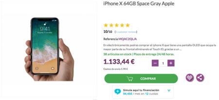 donde comprar el iphone x al mejor precio