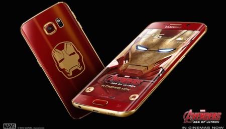 Así luce la edición limitada Iron Man del Samsung Galaxy S6 edge