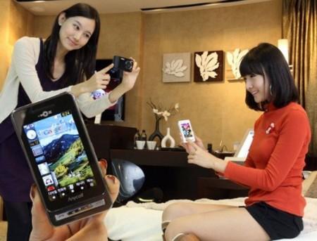 Samsung SPH-W6050, con pantalla de gran resolución