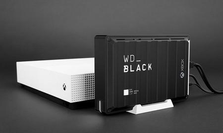 Para xboxers con falta de espacio, hoy en Amazon, el disco duro externo de sobremesa WD Black D10 Game Drive con 12 TB lleva una rebaja de 60 euros
