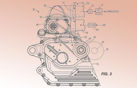 Harley Davidson Patente Turbo 2021 2