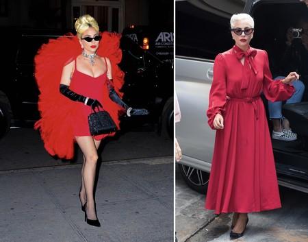 Lady Gaga Rojo
