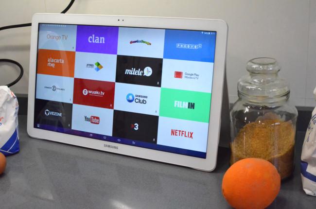 Samsung galaxy view an lisis cuidado televisor hay - Televisores para cocina ...