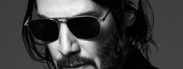 Keanu Reeves toma el papel de rockstar en la nueva campaña de invierno de Saint Laurent