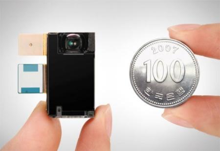 Sensor de 8 megapíxeles de Samsung para teléfonos móviles
