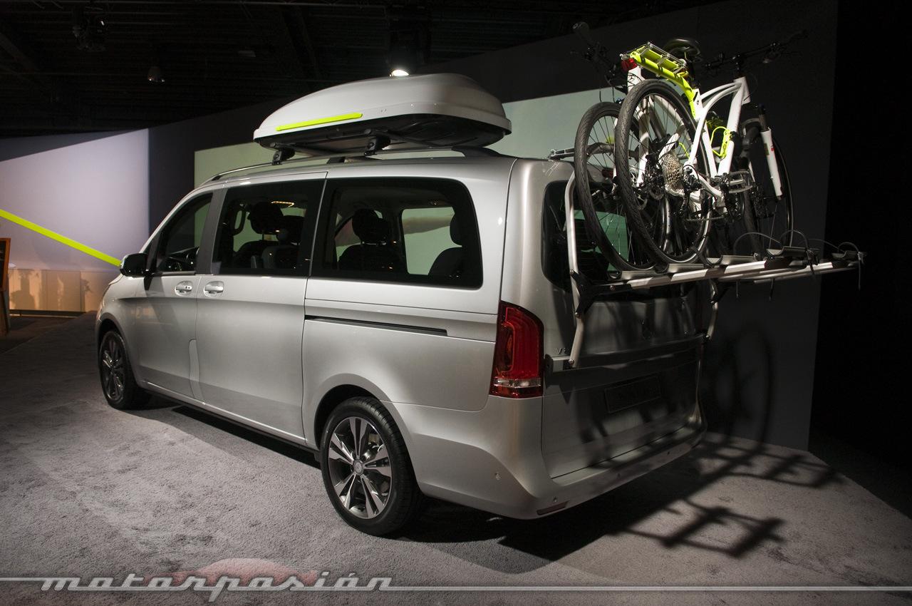 Foto de Mercedes-Benz Clase V (presentación) (19/40)