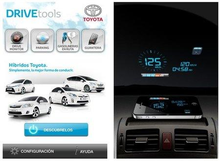 DRIVEtools: la aplicación de conducción para iPhone de Toyota