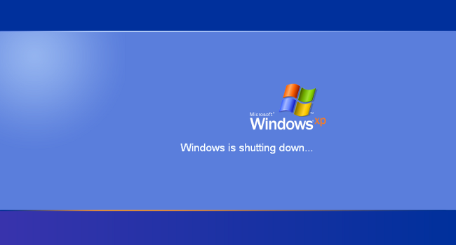 Apagado de Windows XP