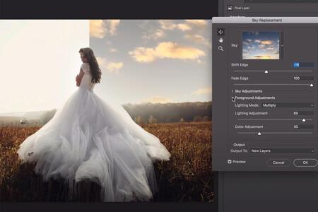 Adobe presenta una nueva herramienta de reemplazo de cielos para Photoshop: así funciona