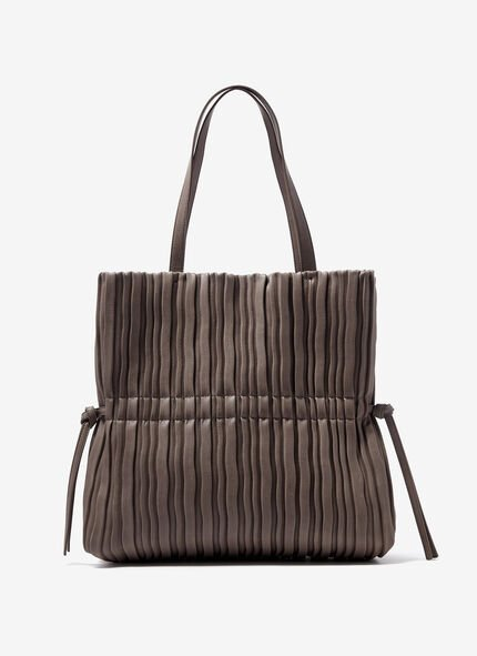 Bolso shopper fruncido