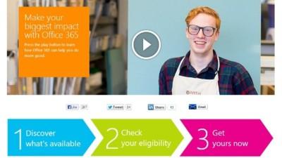 Microsoft ofrece Office 365 gratis para organizaciones sin ánimo de lucro
