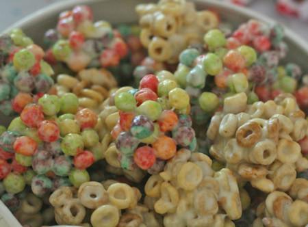 Cereales con malvavisco
