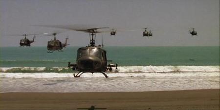 'Apocalypse Now', cabalgando helicópteros