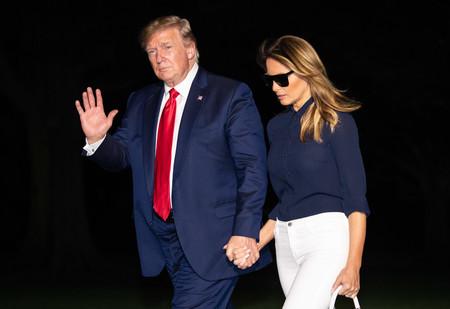 Melania Trump nos propone un sencillo look perfecto para la rentrée (o para cualquier otra ocasión)
