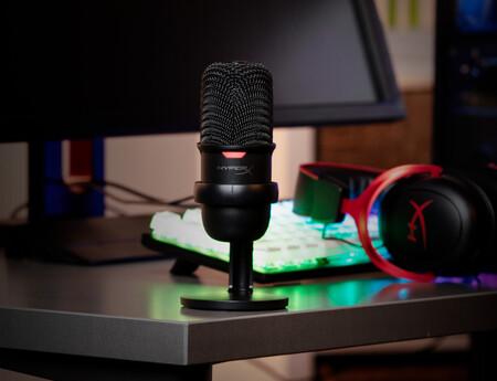 Micrófono económico de HyperX llamado SoloCast ya disponible en México en varias tiendas