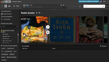 Deezer radio