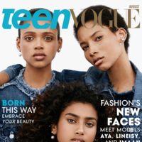 Teen Vogue deja a un lado el racismo y apuesta por las modelos de color más prometedoras