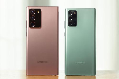 Samsung Galaxy Note 20 y Note 20 Ultra: aún más grandes y con un S Pen preparado para la productividad y el juego