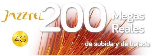 Jazztel duplica hasta 2 GB con 4G los datos incluidos en su oferta de fibra a 200 Mbps simétricos