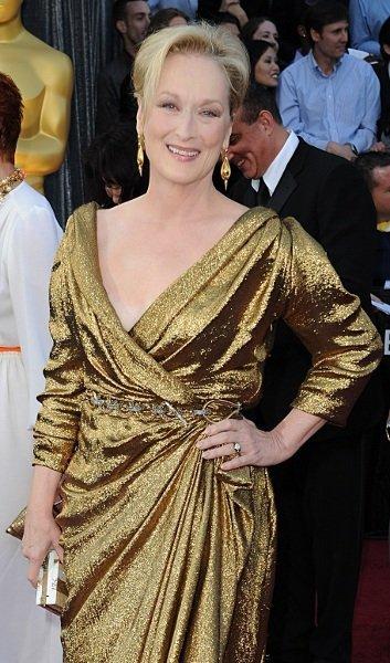 Los mejores looks en la alfombra roja de los Oscars 2012