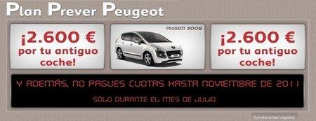Plan Prever Peugeot