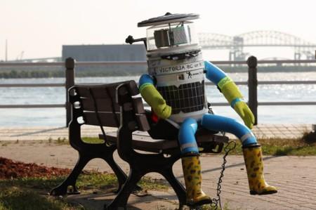 Hacer autoestop es peligroso... ¡hasta para los robots!